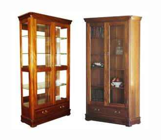Classic Kauri Display Cabinet