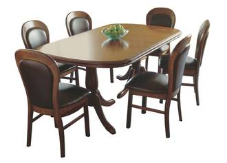 Classic Kauri Twin Pedestal Extension Dining Table