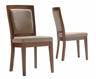 Shaker Padded Back Dining Chair